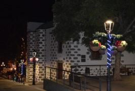 Valsequillo brilla con los colores de la Navidad