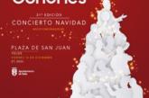 La Plaza de San Juan de Telde acoge el primero de los tres Conciertos de Navidad que ofrece Los Gofiones