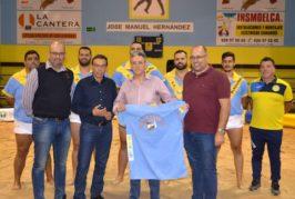 Queso Flor Valsequillo patrocinará al Club de Lucha Almogarén