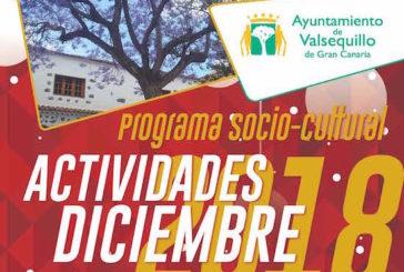 Consulte el Programa de Actividades de la Navidad 2018 en Valsequillo de Gran Canaria