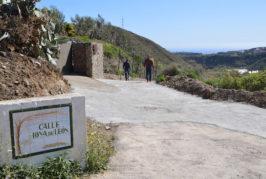 Valsequillo arregla la red de saneamiento en la zona de Hoya León en Los Llanetes