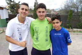 Alejandro Ramírez y Hugo Sanabria vuelven a triunfar en la Liga Insular de Petanca Juvenil