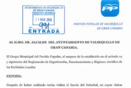 """El PP de Valsequillo lamenta el """"olvido prolongado"""" de ASBA-NC-PSOE con los vecinos de El Helechal"""
