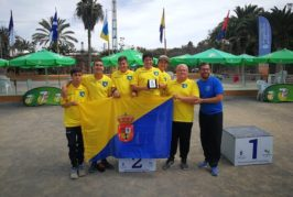 El valsequillero Alejandro Ramírez participó en el Campeonato de Canarias de Selecciones Juveniles de Petanca