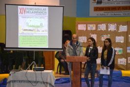 450 escolares participan en el XIV Foro Insular de la infancia en Valsequillo