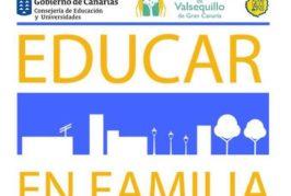 """Valsequillo continúa organizando el programa """"Educar en Familia"""""""