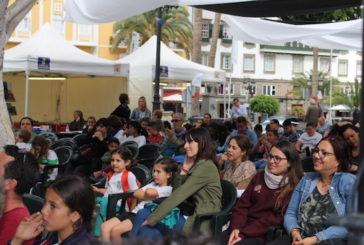 Los cuentistas toman la Plaza de Santa Ana