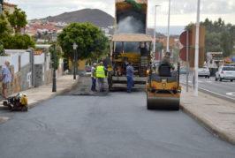Repavimentación de varias calles de Valsequillo