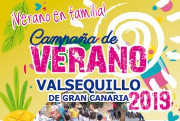Consulte el Programa de la Campaña de Verano 2019 en Valsequillo de Gran Canaria