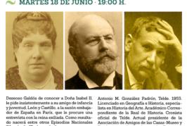 El encuentro de Galdós con la reina Isabel II en su exilio parisino