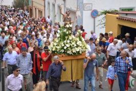 Tenteniguada disfrutó de su fiesta en honor a San Juan Bautista
