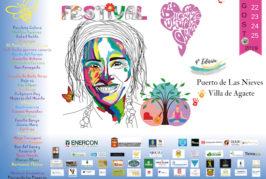 El Festival Bio@gaete 2019 desembarca en Puerto de las Nieves con una amplia oferta educativa y cultural