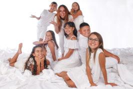 Siete niños de la Escuela de Talentos Saray Castro seleccionados para formar parte del reparto de la obra 'Cuento de Navidad'