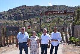 """Se inaugura en Valsequillo el complejo de viviendas rurales """"Finca de Don Emilio"""""""