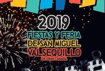 Consulte el programa de actos de las Fiestas y Feria de San Miguel 2019 en Valsequillo de G.C.