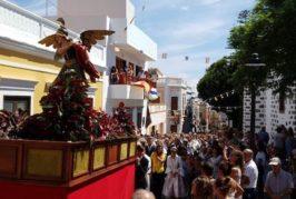 Todo preparado para el Perro Maldito y el día grande de las Fiestas de San Miguel