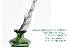 """Ya han sido publicadas las bases del """"IV Certamen Literario de Poesía"""" en Valsequillo"""