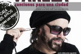 Carlos Varela se acomoda en la Plaza del Pilar Nuevo para descubrir sus nuevas canciones