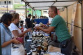 Gran afluencia de público a la Feria de Artesanía y Miel en Valsequillo