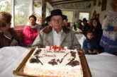 El vecino de Valsequillo Sebastián Domínguez cumplió un siglo