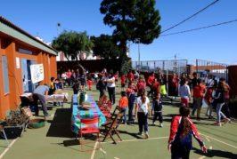 El CER de Telde y Valsequillo celebra los Finaos en el antiguo CEIP de Cazadores