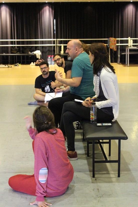Mariano Llorente dirige un taller de dramaturgia e interpretación actoral en el marco del 'Laboratorio Galdós'