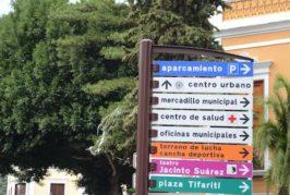 Valsequillo cuenta con nueva señalética fija en el casco del municipio