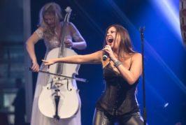 La cantante Cristina Ramos estrena en el Teatro Leal su espectáculo 'Rock Talent'