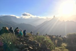 El Cabildo de Gran Canaria organiza una visita a la Mesa de Acusa para contemplar la salida del sol en el solsticio de invierno