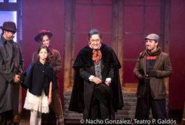 El montaje 'Cuento de Navidad' se estrena en el Teatro Juan Ramón Jiménez de Telde