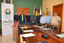 El Ayuntamiento firma los convenios de subvenciones con los clubs y escuelas deportivas de Valsequillo