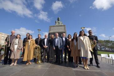 Ambiente festivo en la conmemoración del Centenario del fallecimiento de Benito Pérez Galdós
