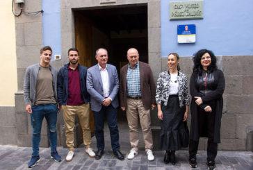 El entrenador de la UD Las Palmas, Pepe Mel, recomienda visitar la Casa-Museo Pérez Galdós