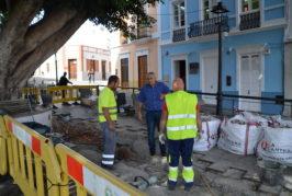Valsequillo mejora la accesibilidad en la Plaza de San Miguel
