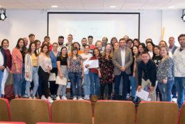 Los alumnos trabajadores de los PFAES de Valsequillo reciben sus certificados de profesionalidad