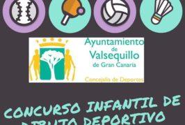 Concurso Infantil de Dibujo Deportivo en Valsequillo
