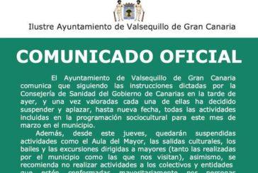 Comunicado Oficial del Ayuntamiento de Valsequillo para la Prevención del COVID-19