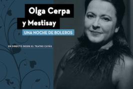 """Olga Cerpa y Mestisay editan, en versión digital, """"Una noche de boleros"""""""