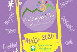 Programa de actividades socioculturales para el mes de marzo en Valsequillo