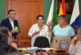 Valsequillo aprueba renovar su parque móvil y se presenta la Asociación Junt@s