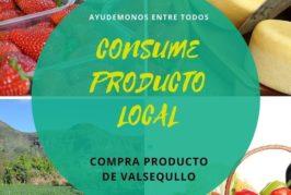 Valsequillo impulsa la compra del producto local con la campaña «Ayudémonos entre todos»
