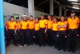 Valsequillo agradece la labor que está realizando la Policía Local y Protección Civil