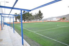 El Ayuntamiento ultima las mejoras en el campo de fútbol 8