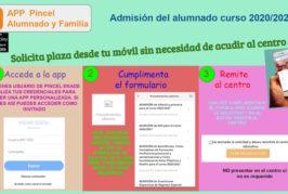 Abierto el plazo de solicitud de plaza en los centros escolares de Valsequillo