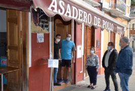 Los comercios, bares y cafeterías abren con seguridad en Valsequillo