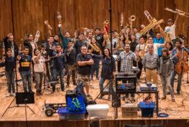 Olga Cerpa y Mestisay estrena video colectivo en las redes con la Banda Sinfónica mexicana de la UNAM