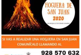 El Ayuntamiento de Valsequillo de Gran Canaria elabora un censo de las hogueras de San Juan