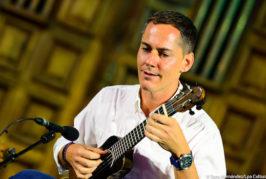 El timplista Germán López ofrece 'online', hoy viernes, un recital desde la Casa-Museo León y Castillo de Telde