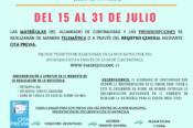 Abierto el plazo de renovación de matrícula de las escuelas artísticas municipales de Valsequillo