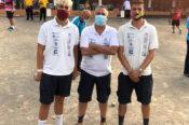 El equipo de petanca del Club Lomitos de Correa representará a Valsequillo en la isla de La Palma